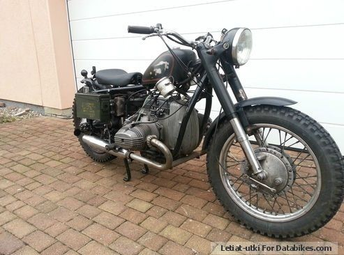 1982 Ural  Motor Dnepr MT 10 with Bmw R60 / 7 Motorcycle Motorcycle photo