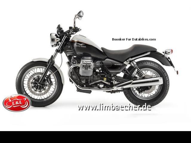 2012 Moto Guzzi Nevada Anniversario Model 2013