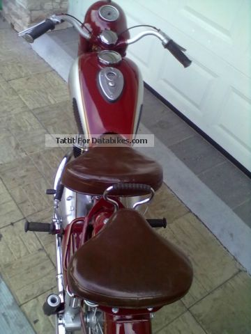 Jawa  350 1953 Vintage, Classic and Old Bikes photo