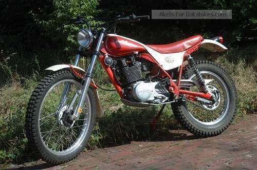 1984 Italjet  Scott Trial 350 Motorcycle Enduro/Touring Enduro photo