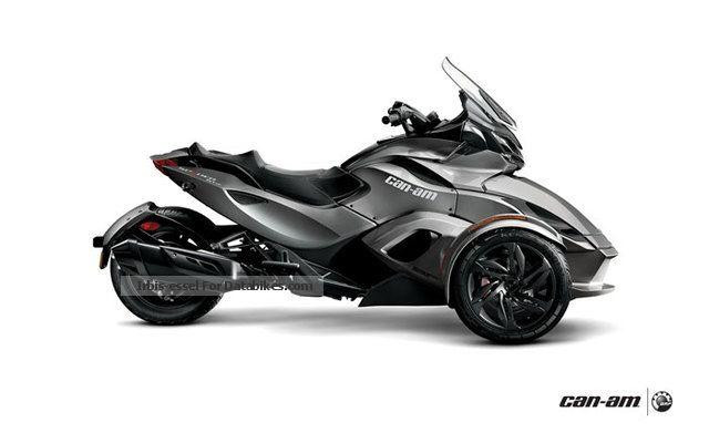 2012 Can Am  ST-S Spyder SE5 \ Motorcycle Trike photo