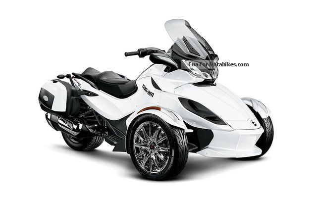 2012 Can Am  ST Limited Spyder SE5 \ Motorcycle Trike photo