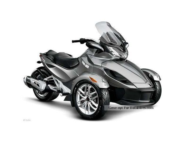2012 Can Am  ST Spyder SM5 \ Motorcycle Trike photo
