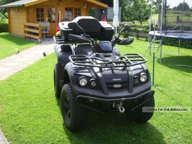 2009 TGB  Blade 4x4 ATV Edition Motorcycle Quad photo