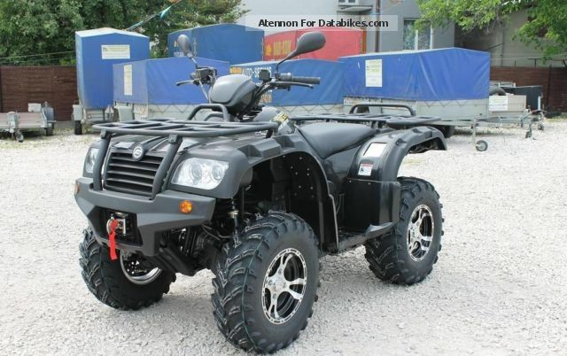 2012 CFMOTO  Allroad 500 Motorcycle Quad photo