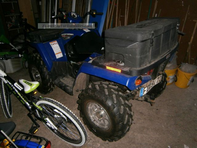 2007 Polaris  sportsman 800 crawler track only 700 km Motorcycle Quad photo