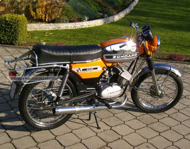 Zundapp  Zundapp GTS 517-40 1974 Vintage, Classic and Old Bikes photo