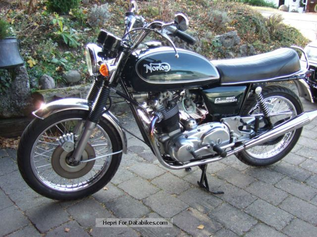 Norton  Commando MK3 1978 Vintage, Classic and Old Bikes photo
