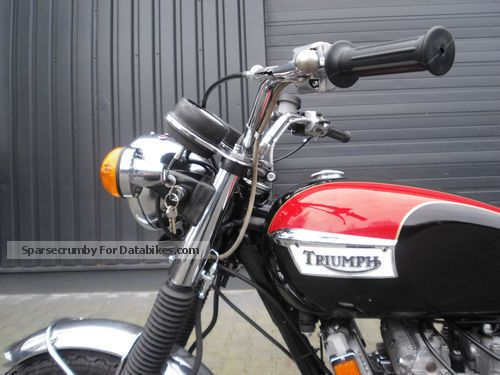 Triumph  Trident T150V 1974 Vintage, Classic and Old Bikes photo
