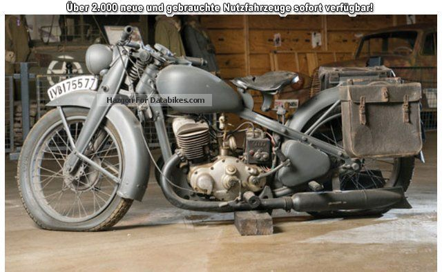 DKW  500, German Army 1942 Vintage, Classic and Old Bikes photo