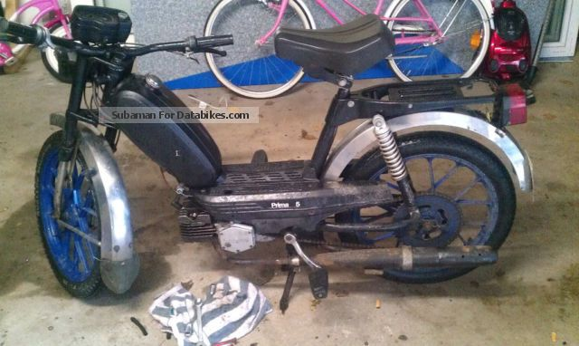 1986 Herkules  prima 5 low noise Motorcycle Motor-assisted Bicycle/Small Moped photo