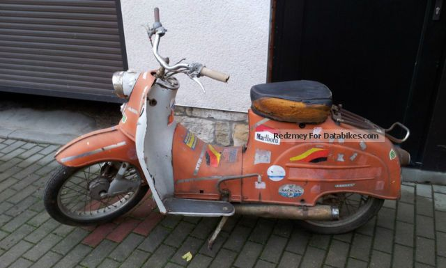 Simson  KR 50 1961 Vintage, Classic and Old Bikes photo