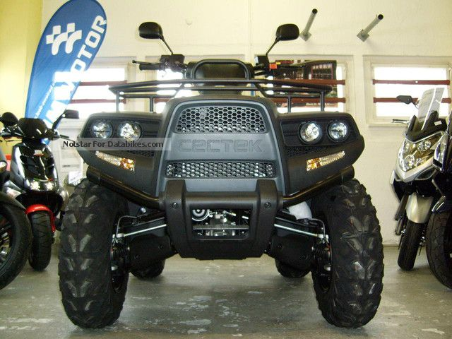 2012 Cectek  Gladiator 525 T6 - incl Navi + 200, Voucher Motorcycle Quad photo