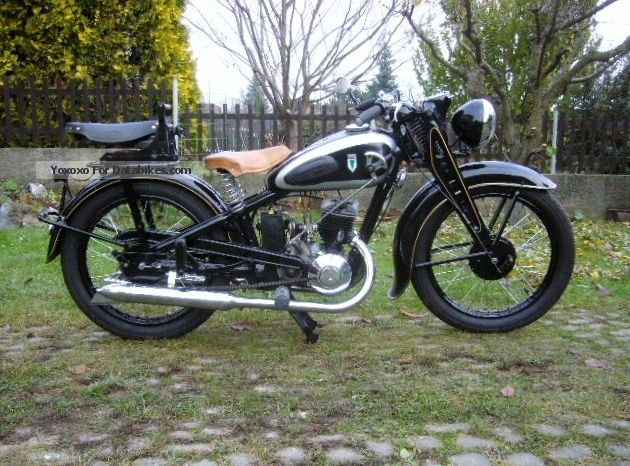 DKW  SB200 1937 Vintage, Classic and Old Bikes photo