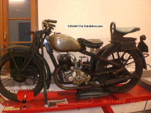 1933 DKW  Block 250 Motorcycle Motorcycle photo