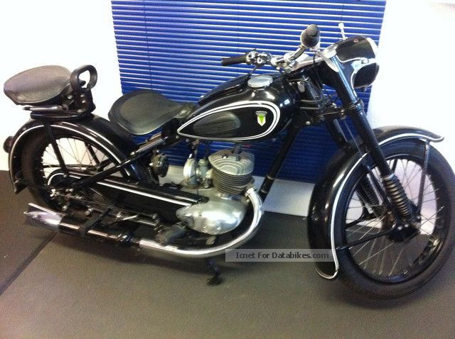 DKW  AUTO UNION-RT 200 1952 Vintage, Classic and Old Bikes photo