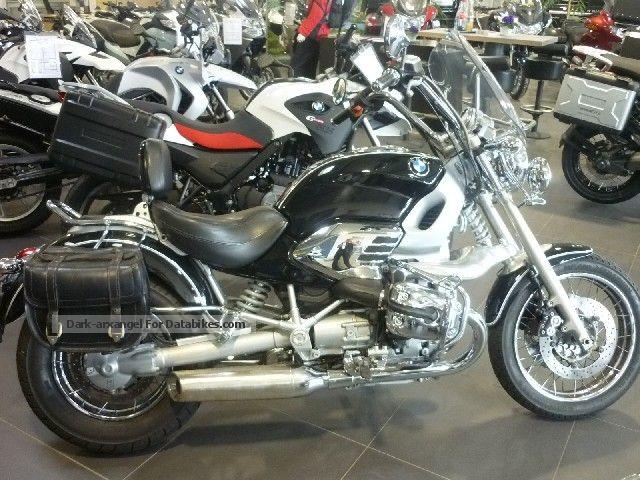 2001 BMW  R 850 C saddlebag crash bars ABS Motorcycle Motorcycle photo