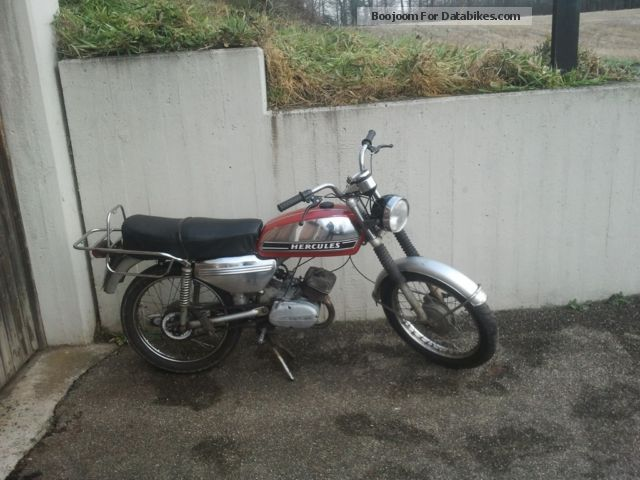 1974 Hercules  Mk Motorcycle Motor-assisted Bicycle/Small Moped photo