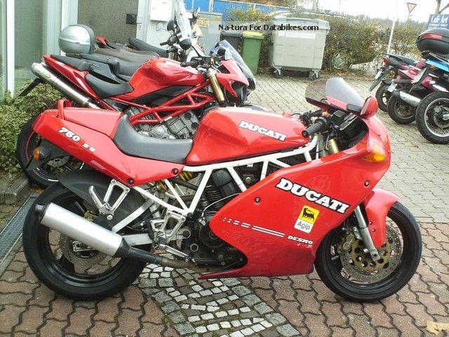 Ducati  750 SS Super Sport 1991 Sports/Super Sports Bike photo