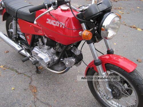 1975 Ducati  860 GT Motorcycle Motorcycle photo