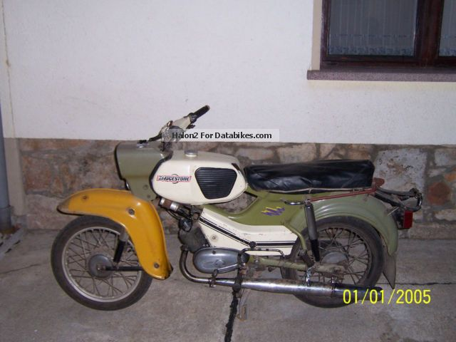 1982 Simson  Hawk Motorcycle Motor-assisted Bicycle/Small Moped photo