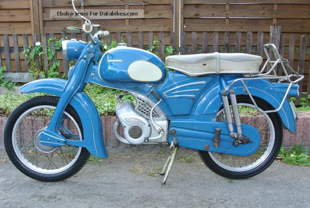 1961 Zundapp  Zündapp Sports Combinette KS 50 in original paint from 2.Hd KS Motorcycle Motor-assisted Bicycle/Small Moped photo