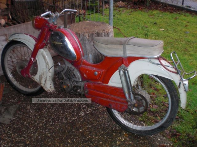 1960 Zundapp  Zündapp Super Combinette Motorcycle Motor-assisted Bicycle/Small Moped photo
