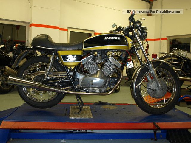 Moto Morini  3 1/2 1976 Vintage, Classic and Old Bikes photo