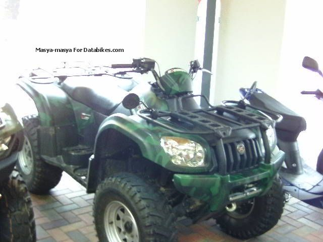 2008 Explorer  CF 500 4 +4 Motorcycle Quad photo