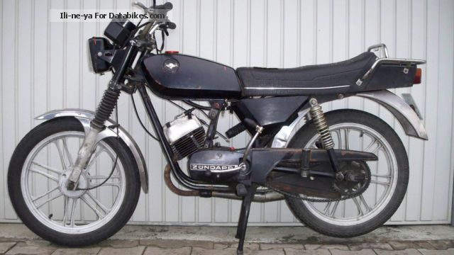 Zundapp  Zündapp Mokick CS 50 Type 448-010 1979 Vintage, Classic and Old Bikes photo