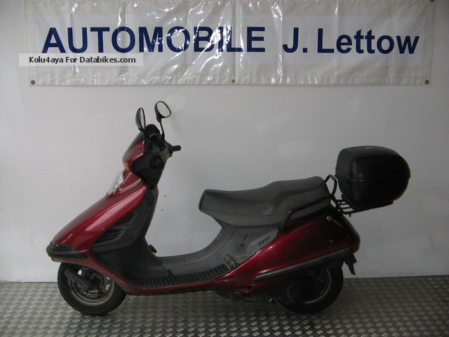1997 Honda  Spicy 125 JF03 Motorcycle Scooter photo