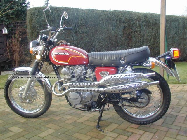 1972 Honda  CL 450 Scrambler Motorcycle Motorcycle photo