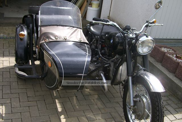 1975 Ural  Dneper 750 cc Motorcycle Combination/Sidecar photo