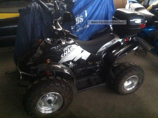 2008 Seikel  Shark 50 with topcase Motorcycle Quad photo