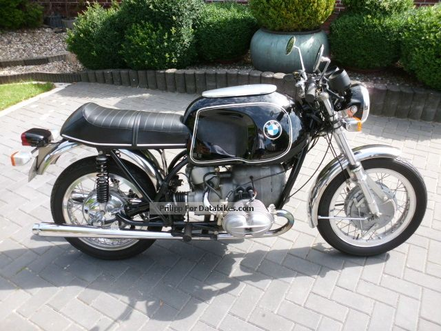 BMW  R 69 S with Zabrocky suspension, Ceriani fork 1965 Vintage, Classic and Old Bikes photo