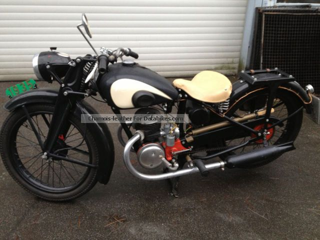 1935 Zundapp  Zündapp DB 200 Motorcycle Motorcycle photo