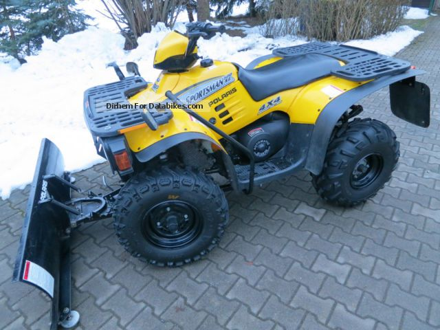 2000 Polaris  Sportsman 500 4x4 HQ Motorcycle Quad photo