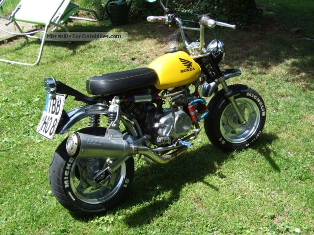 Honda  Monkey y1 with motorcycle licensing 1974 Vintage, Classic and Old Bikes photo