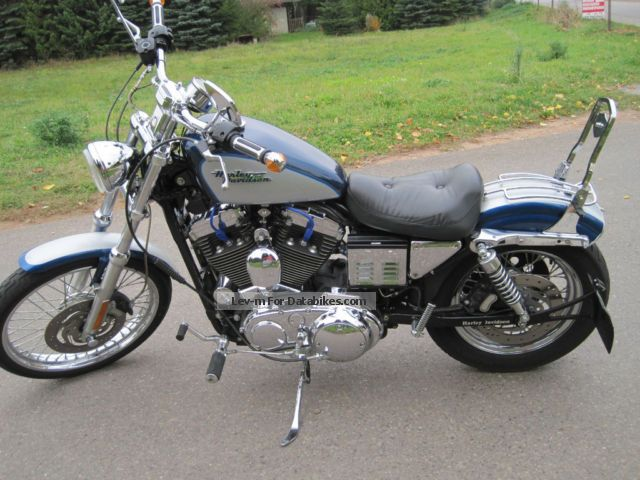 2000 Harley Davidson  1200 custom Motorcycle Chopper/Cruiser photo