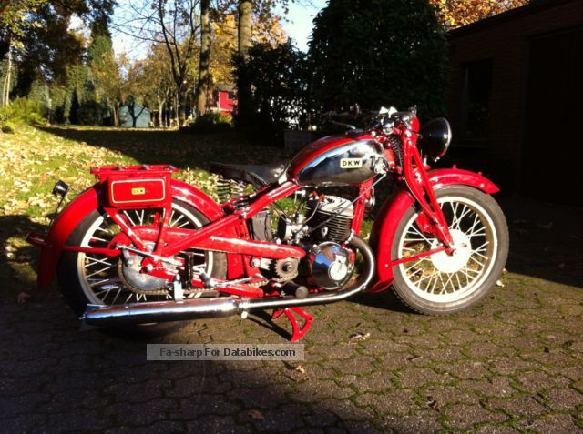 DKW  500 1932 Vintage, Classic and Old Bikes photo