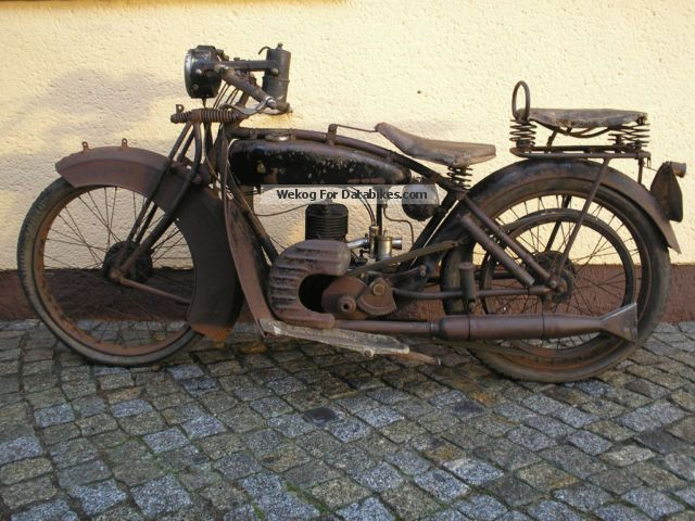 DKW  E206 1926 Vintage, Classic and Old Bikes photo
