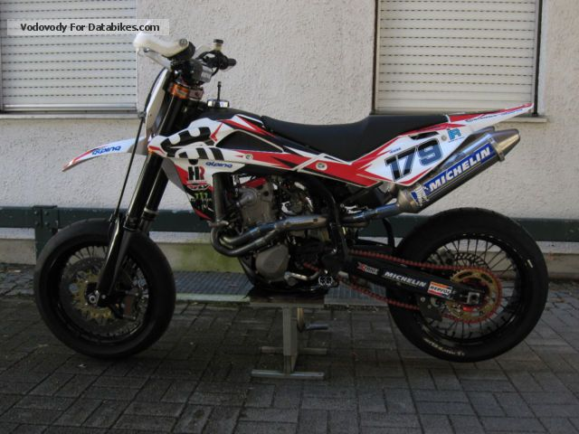 2009 Husqvarna  SM 450 RR Motorcycle Super Moto photo