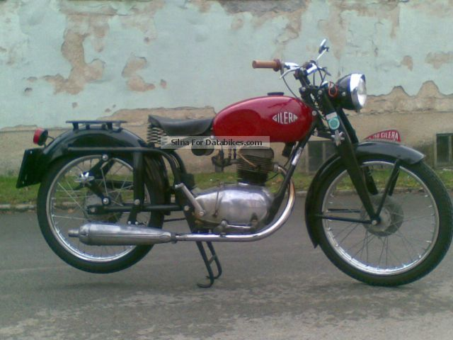 Gilera  Turismo 150 1952 Vintage, Classic and Old Bikes photo
