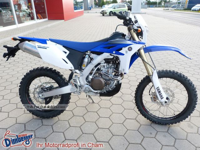 2012 Yamaha  WR 450 F new Mod 2012 inclusive Racingkit Motorcycle Enduro/Touring Enduro photo