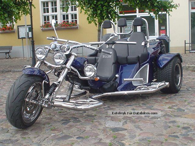2012 Boom  Mustang Touring Family Back Thunderbird Motorcycle Trike photo