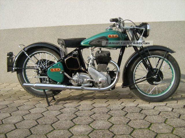 BSA  M 20 1941 Vintage, Classic and Old Bikes photo