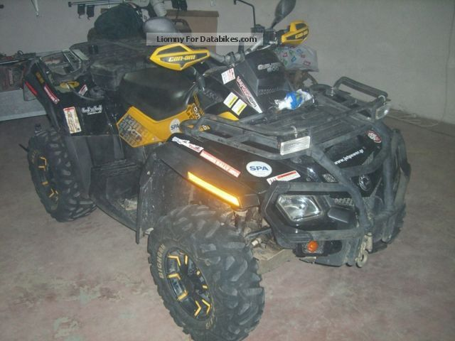2010 Can Am  Outlander Max XTP Motorcycle Quad photo