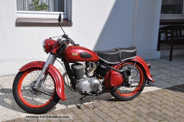 Triumph  BD250SL 1955 Vintage, Classic and Old Bikes photo