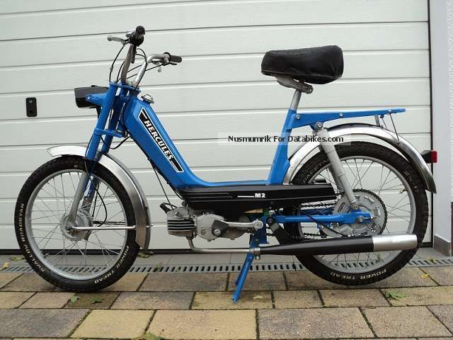 1978 Hercules  M2, 504 M, moped, Fichtel & Sachs, Sachs 504/1 B Motorcycle Motor-assisted Bicycle/Small Moped photo