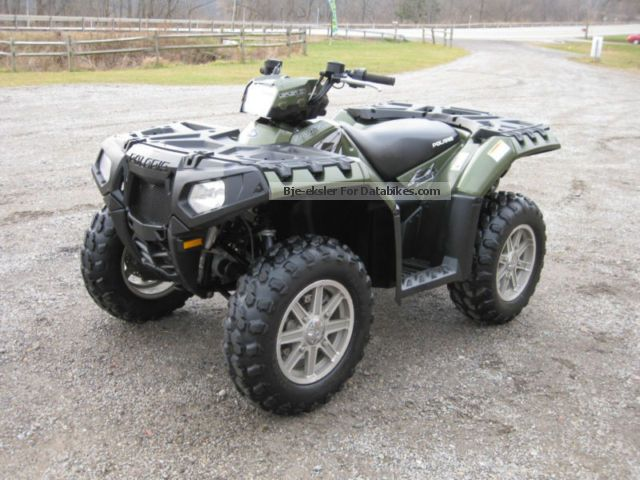 2010 Polaris  Sportsman 550 with EPS Motorcycle Quad photo